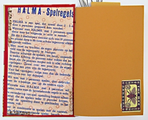 Halma inside front cover